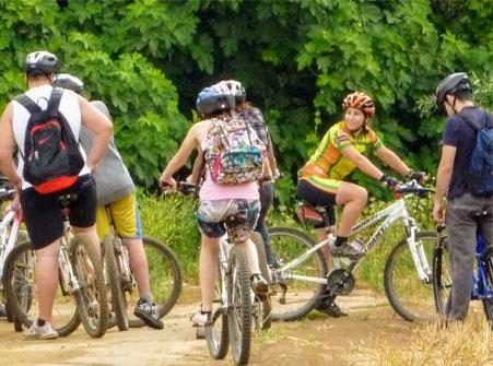 נווה צאלים - מסעות אופניים