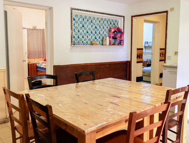 נווה צאלים - הפנימייה - חדר אוכל